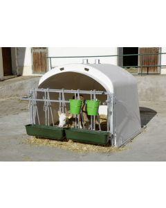 Adapost pentru vitei CalfHouse Premium XL cu grilaj de prindere