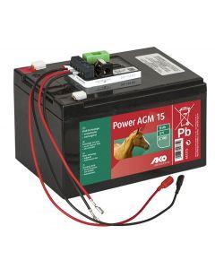 Power AGM 15 Ah set complet