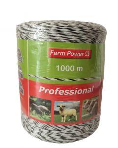 Fir pentru gard electric FarmPower Professional 500 m 6 lite