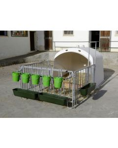 Iglu pentru vitei Calf house Premium XL cu tarc Kerbl