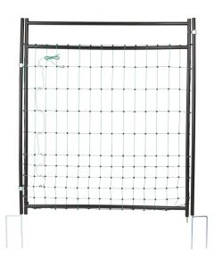 Poarta pentru plasa gard electric pasari