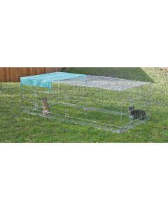 Tarc cu bariera anti-evadare iepuri Kerbl